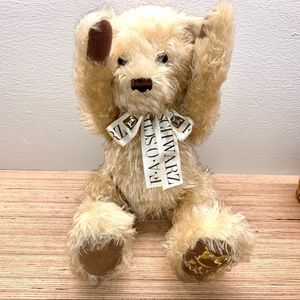 FAO Schwarz Commemorative 2000 Teddy Bear, Vintage